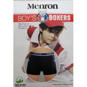 """Боксёры подростковые """"Nc-man- Menron"""" 9104 хлопок, р. L, XL, 2XL- (8-10, 10-12, 12-14 лет)- ростовка 6 шт."""
