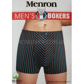 "Боксеры муж. ""MENRON"" 9121 Cotton+bamboo р. ХL, 2XL, 3XL, 4XL -ростовка 8 шт."