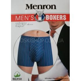 "Боксеры муж. ""MENRON"" 9122 -батал Cotton+bamboo р. 5XL, 6XL, 7XL -ростовка 6 шт."