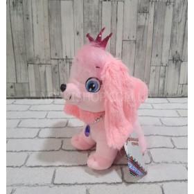 "Мягкая игрушка ""Розовая собачка"", Копиця"