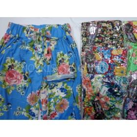 """Лосины """"FUXIAOPAN"""" 803 бамбук, цветные с карманами по бокам, р. 5XL-(44-48), 6XL-(46-50), расцветки в широком ассортименте"""