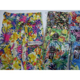 """Лосины """"FUXIAOPAN"""" 805 бамбук, цветные с карманами по бокам, р. 46-48, 48-50 (5 XL, 6XL) расцветки в широком ассортименте"""