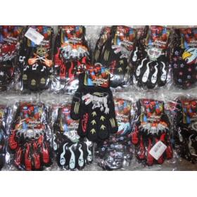 """Перчатки детские """"Корона"""" 5061-1 (мальчик), р. 5-8 лет, уп. 12 шт, ассорти (страшилки)"""