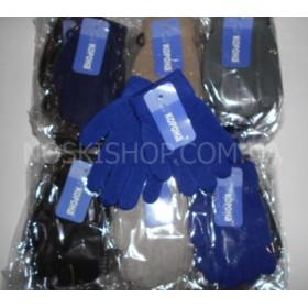 """Перчатки детские """"Корона"""" 5081-2 с начёсом р. 2-5 лет, ассорти, уп. 12 шт (мальчик, однотонные)"""
