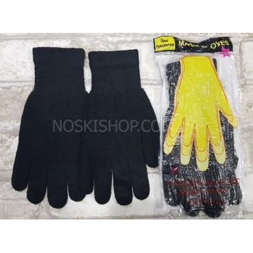 """Перчатки универсальные Д-19 """"Жёлтая рука"""" -(черные) -уп. 10 шт."""
