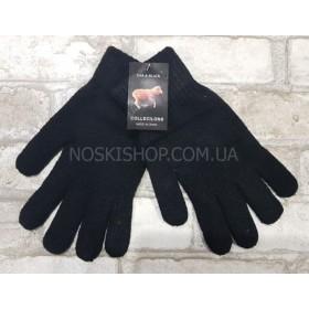 """Перчатки мужские """"DAR&BLAK-Баран"""" №360 на байке, уп. 8 шт, чёрные"""