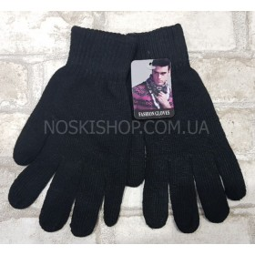 "Перчатки мужские ""Feshion Gloves"" А-3 на байке, уп.12 шт, чёрные"