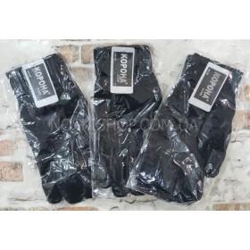 """Перчатки мужские """"Корона"""" 8180 на байке -(черные) -уп.12 шт."""