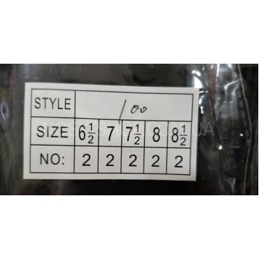 """Перчатки женские """"Трикотажные"""" С-100 на тонком меху+манжет -ассорти -(в уп. 10 шт. -одной модели, микс размеров)"""