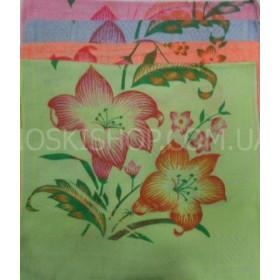 """Полотенце 089-3 лицевое, размер 90*45 уп. 20 шт (цветы,""""синтетика"""")"""