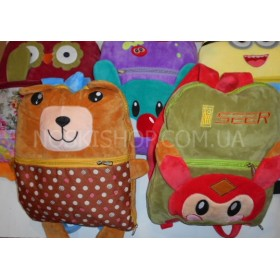 Плед-рюкзак детский 88-2 микрофибра-велюр 150*100, расцветки в широком ассортименте