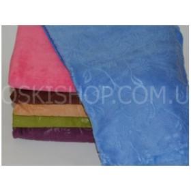 Полотенце ВН-1012 размер 50*25 уп. 12 шт микрофибра-велюр (выдавленные веточки)