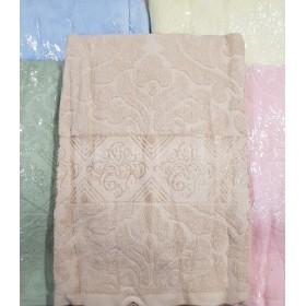 Полотенце А4-17 кухонное, размер 70*35 уп. 10 шт (выдавленный узор+орнамент)