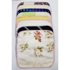 Салфетка (полотенце) М-1-2, размер 30*30 уп. 20 шт (микс)