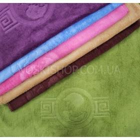 Салфетка (полотенце) 600-85 размер 35*35 уп. 20 шт велюр-микрофибра (медальон)
