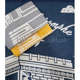 Полотенце 74-92 банное лён-(cotton) размер 140*70 уп. 6 шт (Город, арка)