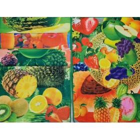 Полотенце (салфетка) 140-9 кухня р. 60*40 -уп. 12 шт -(фрукты +.... -разный микс)