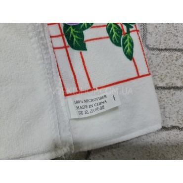 Полотенце (салфетка) СР-26 кухонное, размер 40*65 уп. 12 шт (светлые +микс рисунков)
