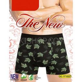 "Боксёры мужские ""Veenice"" 10327 cotton+bamboo р. ХL, 2XL, 3XL, 4XL -ростовка 8 шт -микс расцветок"