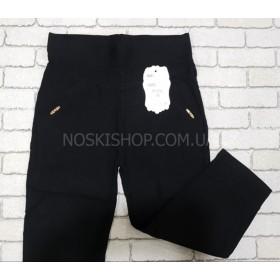 """Бриджи """"BLACK CYCLONE"""" W0101 стрейч, спереди и сзади карманы, р. M-(42-44), L-(44-46) -(черные)"""