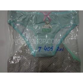 Женские трусы Т-405 2XL (46-48), хлопок, уп. 10 шт ассорти (жабки)