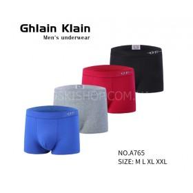 """Боксёры """"Ghlain Klain"""" 765 коттон р. М-(46-48), L-(48-50), XL-(50-52), XXL-(52-54) - уп. 12 шт -микс"""