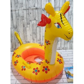 "Надувной круг ""Swim Boat Жираф"" (Размер 28""х22"")"